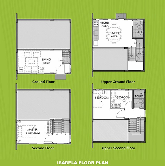 Isabela Floor Plan House and Lot in Sta. Cruz