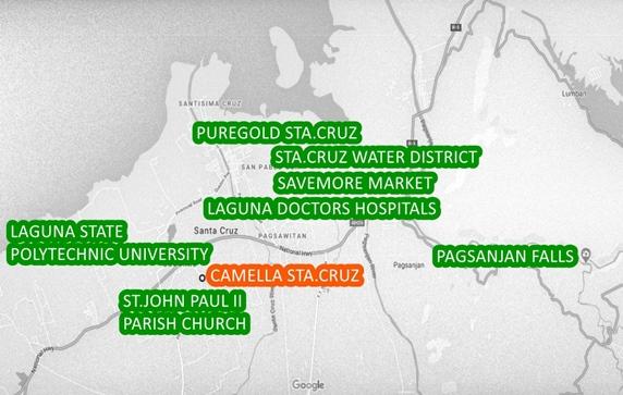 Sta. Cruz Property Vicinity Map